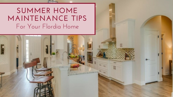 Summer Maintenance tips by Southern Homes